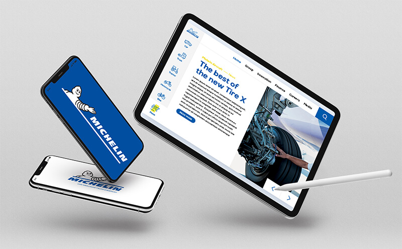 Michelin Landing Page